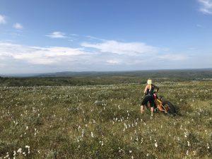 Personal trainer Järvenpää – Maria Hakulinen fatbikella